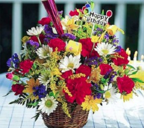 Gėlių puokštės